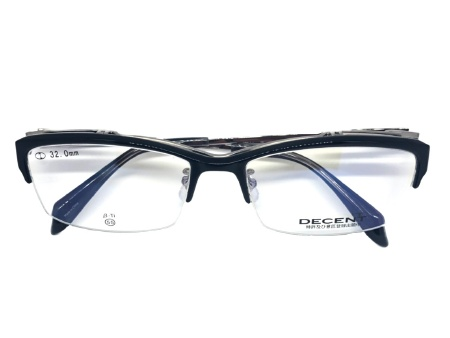 手元を見る際、快適メガネ!跳ね上げメガネ